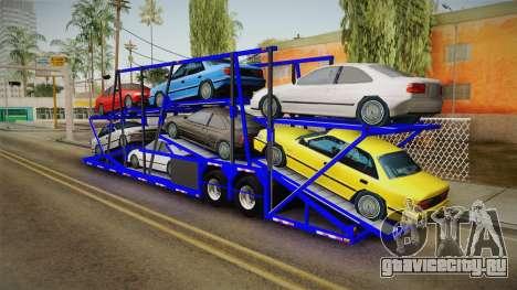 Peterbilt 379 Packer Tractor Trailer для GTA San Andreas вид слева