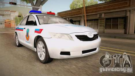 Toyota Camry Turkish Gendarmerie Traffic Unit для GTA San Andreas