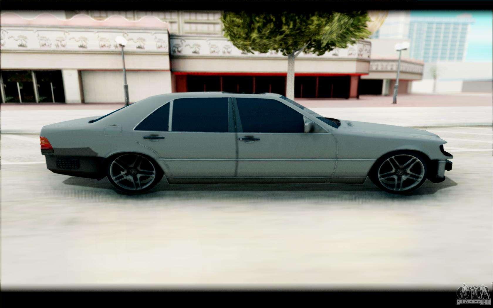 Mercedes Benz 600sel Gta San Andreas