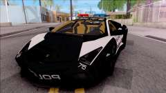 Lamborghini Reventon High Speed Police для GTA San Andreas