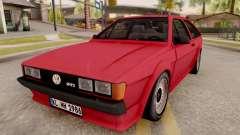 Volkswagen Scirocco Mk2 Stock для GTA San Andreas
