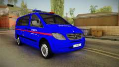 Mercedes-Benz Vito Turkish Gendarmerie для GTA San Andreas