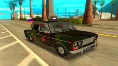 ВАЗ 2106 бирюзовый для GTA San Andreas