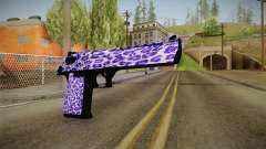 Tiger Violet Desert Eagle