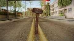 Leatherface Butcher Weapon 1 для GTA San Andreas