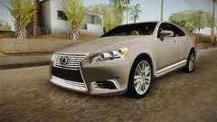 Lexus LS 460 Interior для GTA San Andreas