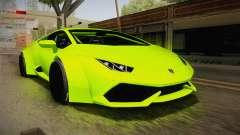 Lamborghini Huracan Rocket Bunny 2014 для GTA San Andreas