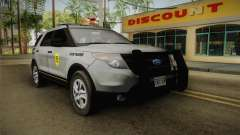 Ford Explorer 2014 Iowa State Patrol для GTA San Andreas