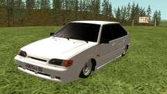 ВАЗ 2114 белый для GTA San Andreas