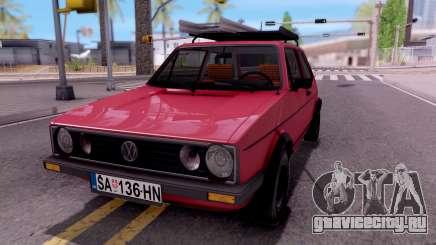 Volkswagen Golf Mk1 Yugoslav для GTA San Andreas