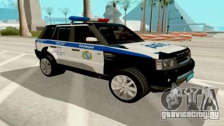 Range Rover Sport Police для GTA San Andreas