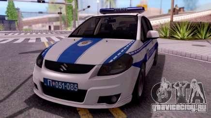 Suzuki SX4 Policija для GTA San Andreas