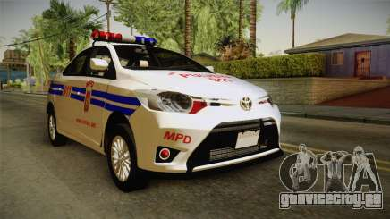 Toyota Vios 2014 Philippine National Police для GTA San Andreas