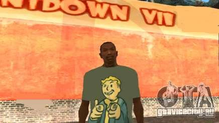 Футболка Fallout для GTA San Andreas