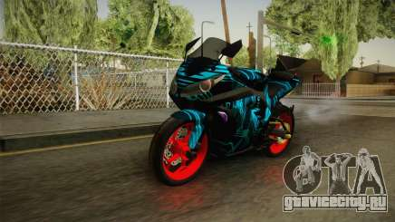 Kawasaki Ninja 250 FI Smoke Tech для GTA San Andreas