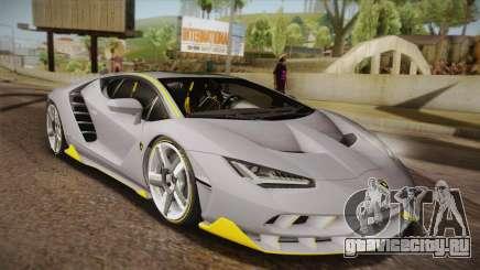 Lamborghini Centenario LP770-4 для GTA San Andreas