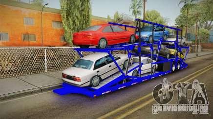 Peterbilt 379 Packer Tractor Trailer для GTA San Andreas