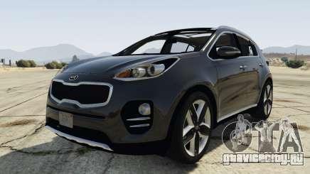 Kia Sportage 2017 2.5 для GTA 5