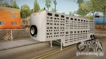 Double Trailer Livestock v3 для GTA San Andreas