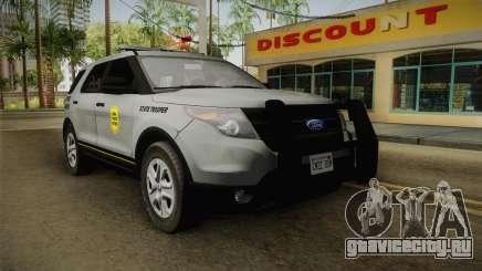 Ford Explorer 2014 Iowa State Patrol для GTA San Andreas