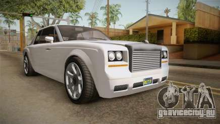 GTA 5 Enus Diamond Coupè для GTA San Andreas