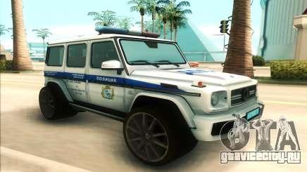 Mercedes-Benz G65 Police для GTA San Andreas