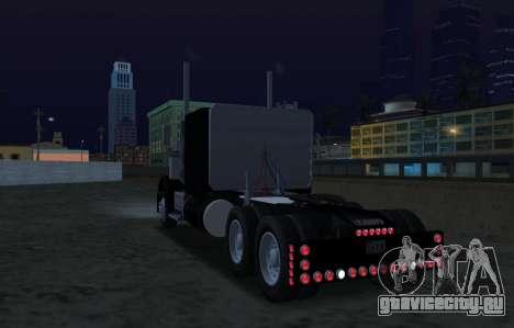 Freightliner FLD 120 Classic XL Flattop для GTA San Andreas вид сзади