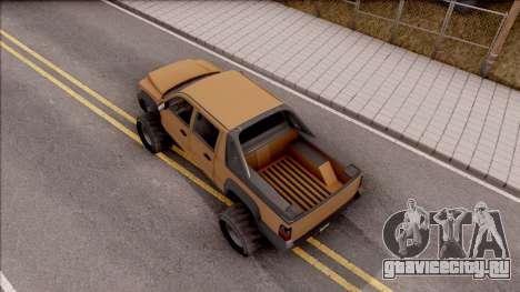 Declasse Granger 4x4 для GTA San Andreas вид сзади