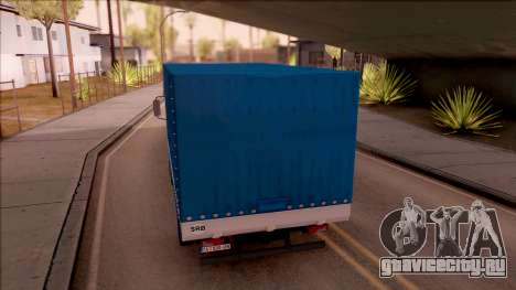 FAP Transporter Kamion для GTA San Andreas вид сзади слева