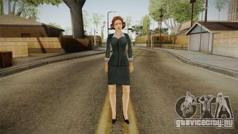 Miss Danvers from Bully Scholarship для GTA San Andreas второй скриншот
