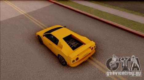 Pegassi Volpe 1994 для GTA San Andreas вид сзади