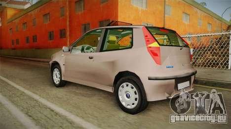 Fiat Punto 2002 для GTA San Andreas вид слева