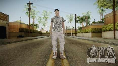 Gunrunning DLC Female Skin для GTA San Andreas второй скриншот