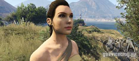 Wonder Woman 2017 для GTA 5 третий скриншот
