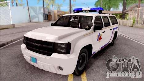 Declasse Granger Hometown PD 2012 для GTA San Andreas