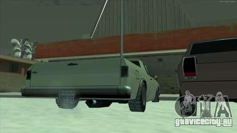 Заснеженные шины машин для GTA San Andreas второй скриншот