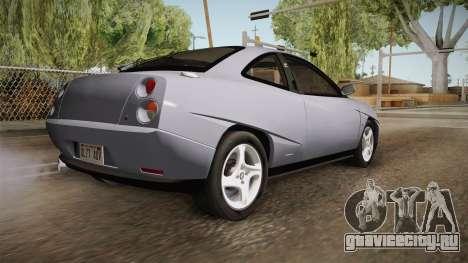 Fiat Coupe для GTA San Andreas вид слева