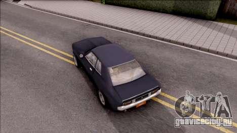 Driver PL Bonsai V.2 для GTA San Andreas вид сзади