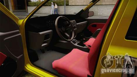 Renault Symbol Taxi для GTA San Andreas вид сзади