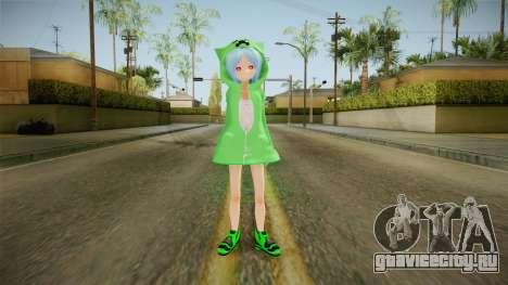 Creeper Skin для GTA San Andreas второй скриншот