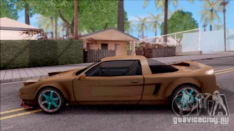 Infernus Tuning для GTA San Andreas вид слева