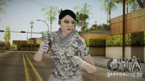 Gunrunning DLC Female Skin для GTA San Andreas