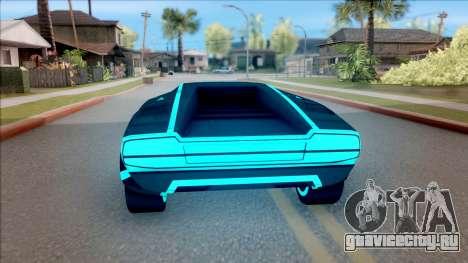 GTA V Pegassi Automan для GTA San Andreas вид сзади слева
