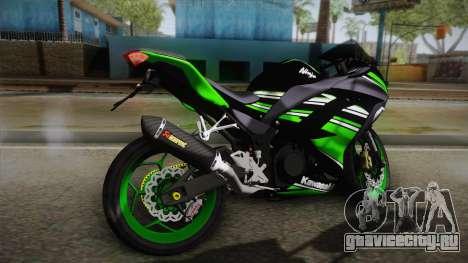 Kawasaki Ninja 300 KRT для GTA San Andreas вид слева