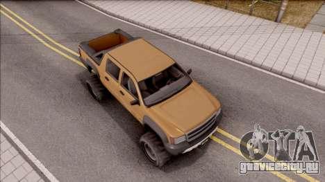 Declasse Granger 4x4 для GTA San Andreas вид справа