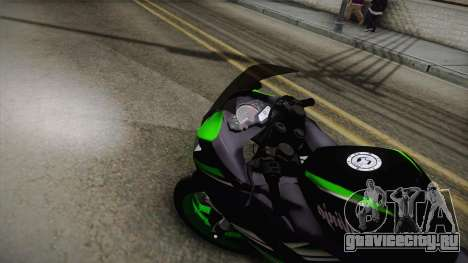 Kawasaki Ninja 300 KRT для GTA San Andreas вид справа