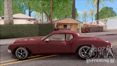 Driver PL Cerva V.2 для GTA San Andreas вид слева
