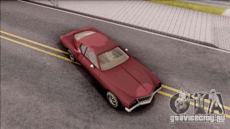 Driver PL Cerva V.2 для GTA San Andreas вид справа
