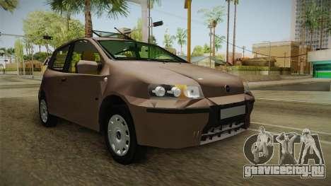 Fiat Punto 2002 для GTA San Andreas вид справа