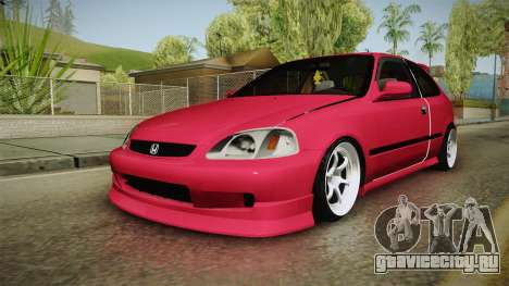 Honda Civic EK9 Stance для GTA San Andreas